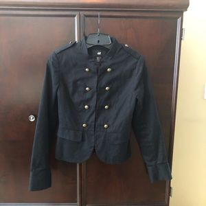Gorgeous Black H&M military jacket